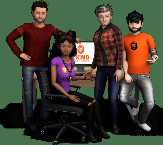 Avakin Desk Characters