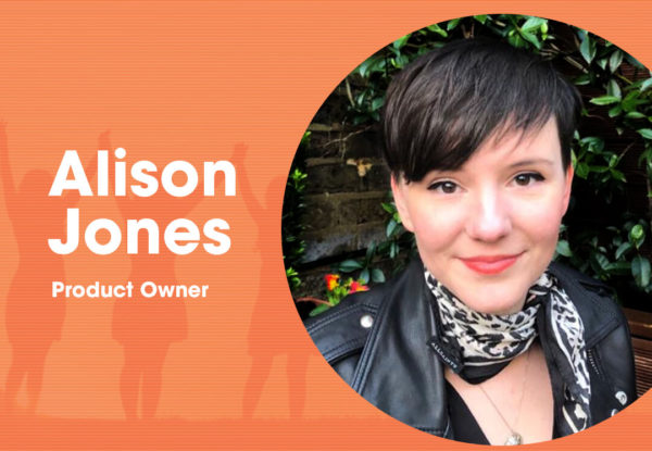 Alison Jones Product Owner