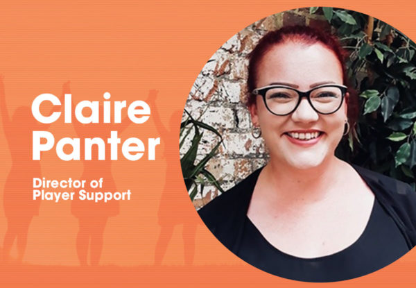 Claire Panter - Director of Player Support