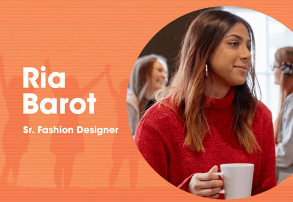 Ria Barot Senior Fashion Designer